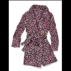 Victoria's Secret cheetah print robe